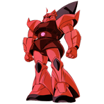 MS-14S Gelgoog Char Aznable Use