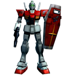 RGM-79 GM Adam Stingray Use